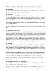 """Teilnahmebedingungen für den Wettbewerb """"schülerVZ ... - studiVZ"""