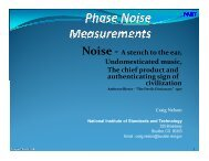 Phase and Amplitude Noise Metrology - 2011 Joint Conference of ...
