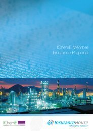 Download the PI insurance proposal form here - Insurance House