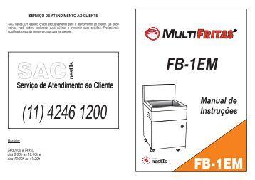 Manual Fritadeira - Grupo NestIs