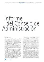 Informe del Consejo de Administración - BBVA Banco Provincial