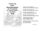 Termine für unsere älteren Gemeindemitglieder - Pfarrgemeinde St ...
