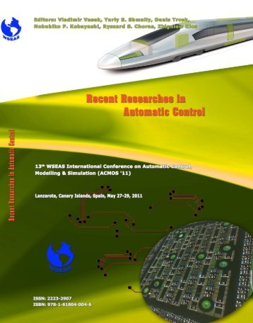 Recent Researches in Automatic Control - Wseas.us