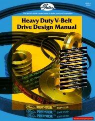 Gates Heavy Duty V-Belt Drive Design Manual 14995-A