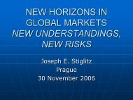 NEW HORIZONS IN GLOBAL MARKETS NEW ... - I.S.E.O