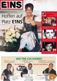 29. Oktober `09 (PDF) - E1NS-Magazin