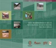 Guía Metodológica de Análisis Participativo del Riesgo de Desastres