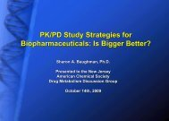 slides - North Jersey Section - American Chemical Society