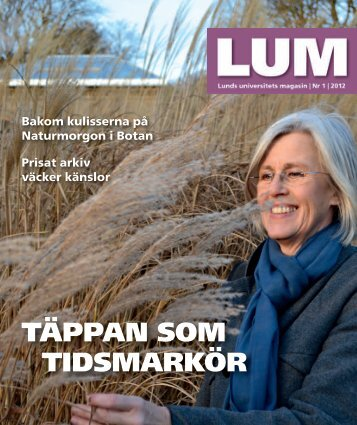 LUM nr 1, 2012 - Humanekologi Lunds universitet