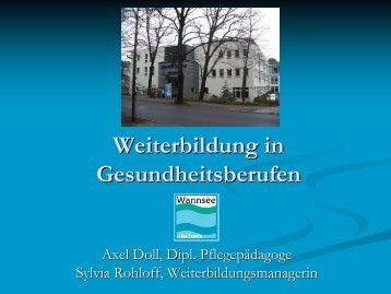 Vortrag - Wannsee-Schule e.V.