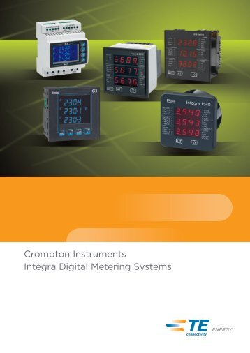 Integra DMS Series Catalogue - Crompton Instruments