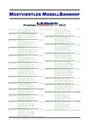 druckbare pdf-Preisliste LS Models 2013 - beim Mostviertler ...