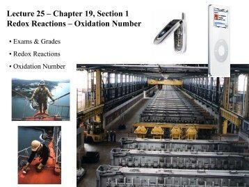 Oxidation Number - Chem.hope.edu