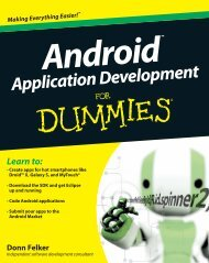 Android.Application.Development.for.For.Dummies