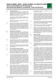 MANN+HUMMEL GMBH – MANN+HUMMEL AUTOMOTIVE GMBH ...