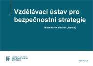 Vzdělávací ústav pro bezpečnostní strategie