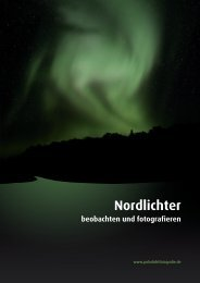 Nordlichter - Island Reiseführer iceland.de