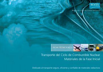 Transporte del Ciclo de Combustible Nuclear Materiales de la Fase ...