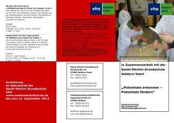 Sabine Tenberken: - Grundschule Veert