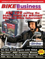 Issue 011 - May 2009 - Bike Business Magazine Home Page