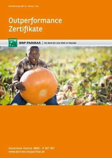 Outperformance Zertifikate - BNP Paribas