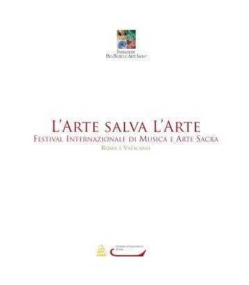 L'Arte salva L'Arte - Festival Internazionale di Musica e Arte Sacra