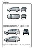 Dimensjoner - Peugeot - Page 5