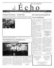 Juin - Echo of Cantley / Écho de Cantley
