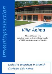 Villa Anima Im m otop selection Exclusive mansions in Munich ...