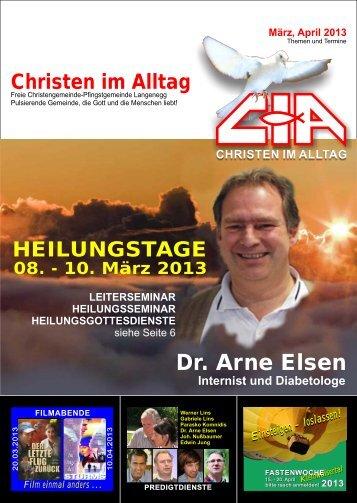 Gemeindebrief 2013-03 04 - Christen im Alltag