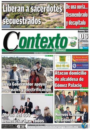 6 - Contexto de Durango