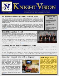 January 2013 - Norwin School District