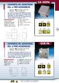 Coffrets de jonctions et postes de commandes EEx e - Audin - Page 2