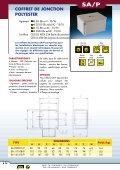 Coffrets de jonctions et postes de commandes EEx e - Audin - Page 3