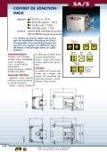 Coffrets de jonctions et postes de commandes EEx e - Audin - Page 5