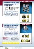 Coffrets de jonctions et postes de commandes EEx e - Audin - Page 7
