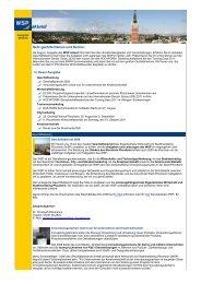 WSP aktuell, Ausgabe August 2010 - Wirtschaft und Stadtmarketing ...