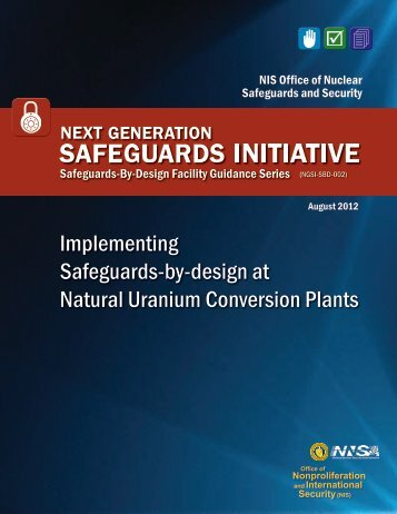 SBD Guidance for Natural Uranium Conversion Plants - National ...