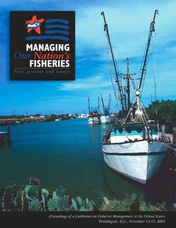 2003 - US Regional Fishery Management Councils