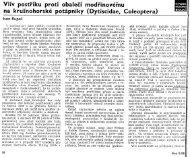 Page 1 Vliv postFiku proti obaleëi modïínovéñm na kruä'nohorské ...