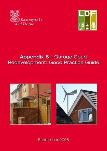 Appendix 8 – Garage Court Redevelopment: Good Practice Guide