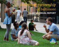 2011 Annual Report - Downtown Baltimore