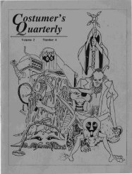 Vol 2 No 4 - International Costumers' Guild, Inc.