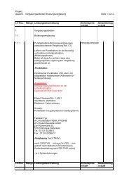 Leistungsbeschreibung Absturzsichernde Verglasung FP70K/HM