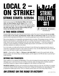 L2_StrikeBulletin_1 (Page 1) - Hotel Workers Rising