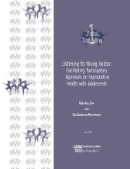 Listening to Young Voices - Pathfinder International