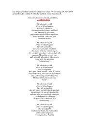 Das folgende Gedicht hat Charlie Chaplin an seinem 70 ... - Groops