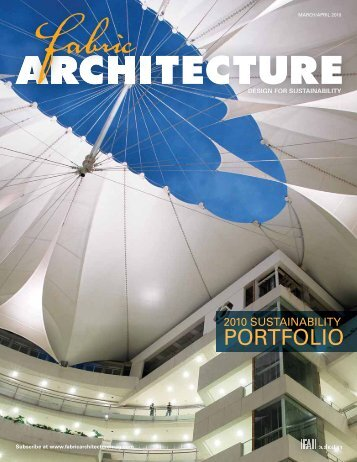 Fabric Architecture, March April 2010, Digital Edition - Specialty ...