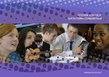 sixth form consortium - Hitchin Girls School