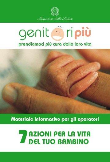 azioni per la vita del tuo bambino - Agenzia di Sanità Pubblica della ...